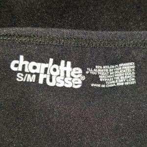 Charlotte Russe Tops - Nice black spaghetti-strap top